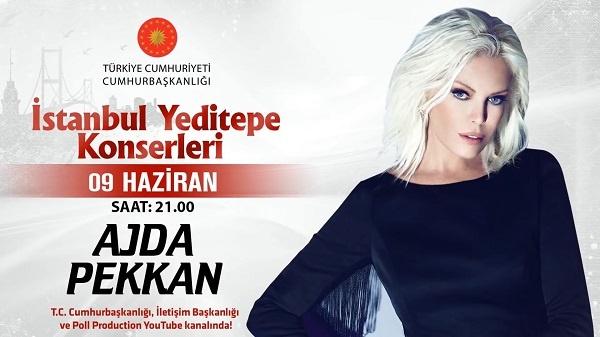 Ajda Pekkan İstanbul Yeditepe Konserleri 09.06.2020 Konser indir