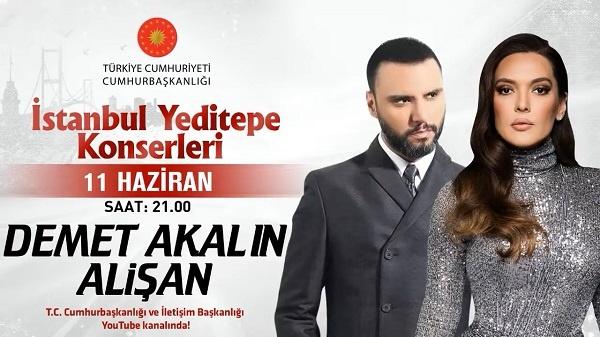 Demet Akalın & Alişan İstanbul Yeditepe Konserleri 11.06.2020 Konser indir